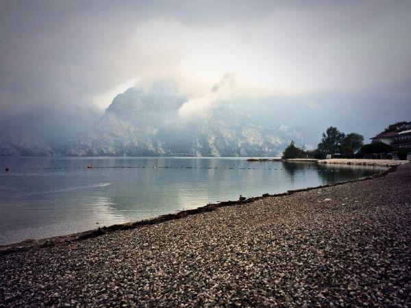 Morgendliche Laufrunde am Gardasee