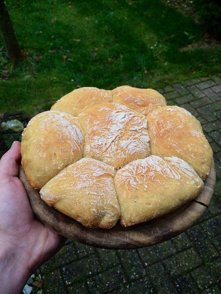Lecker frisches Brot