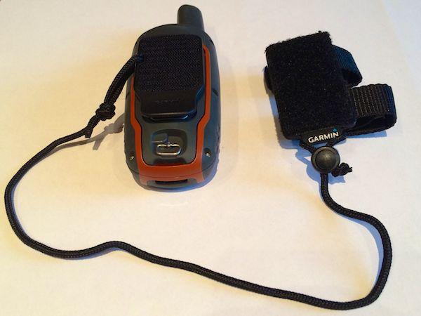 GPSMap 64s mit Rucksackhalter