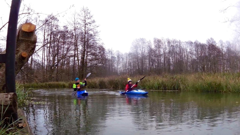 Im November im Spreewald