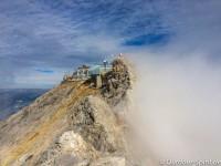 Blick zurück zur Zugspitze