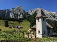Die Bergopfer Gedenkkapelle St. Bernhard