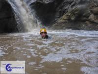 Spaß trotz des trüben Wassers (Foto: Canyonauten.de)