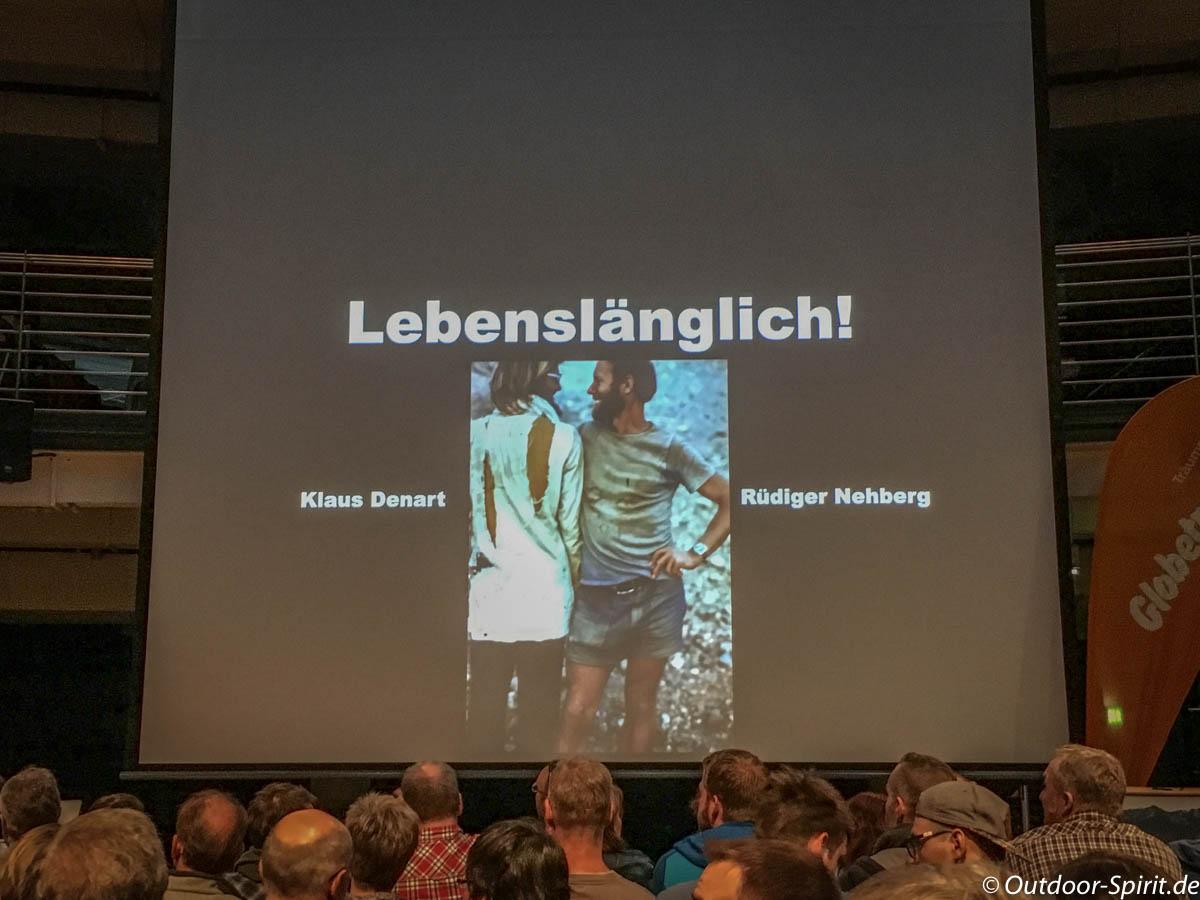 Vortrag von Klaus Denart und Rüdiger Nehberg