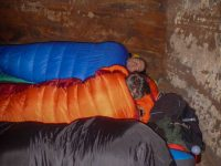 Übernachten in der Höhle