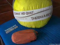 Therm-a-Rest Corus HD Quilt und Universal Sheet