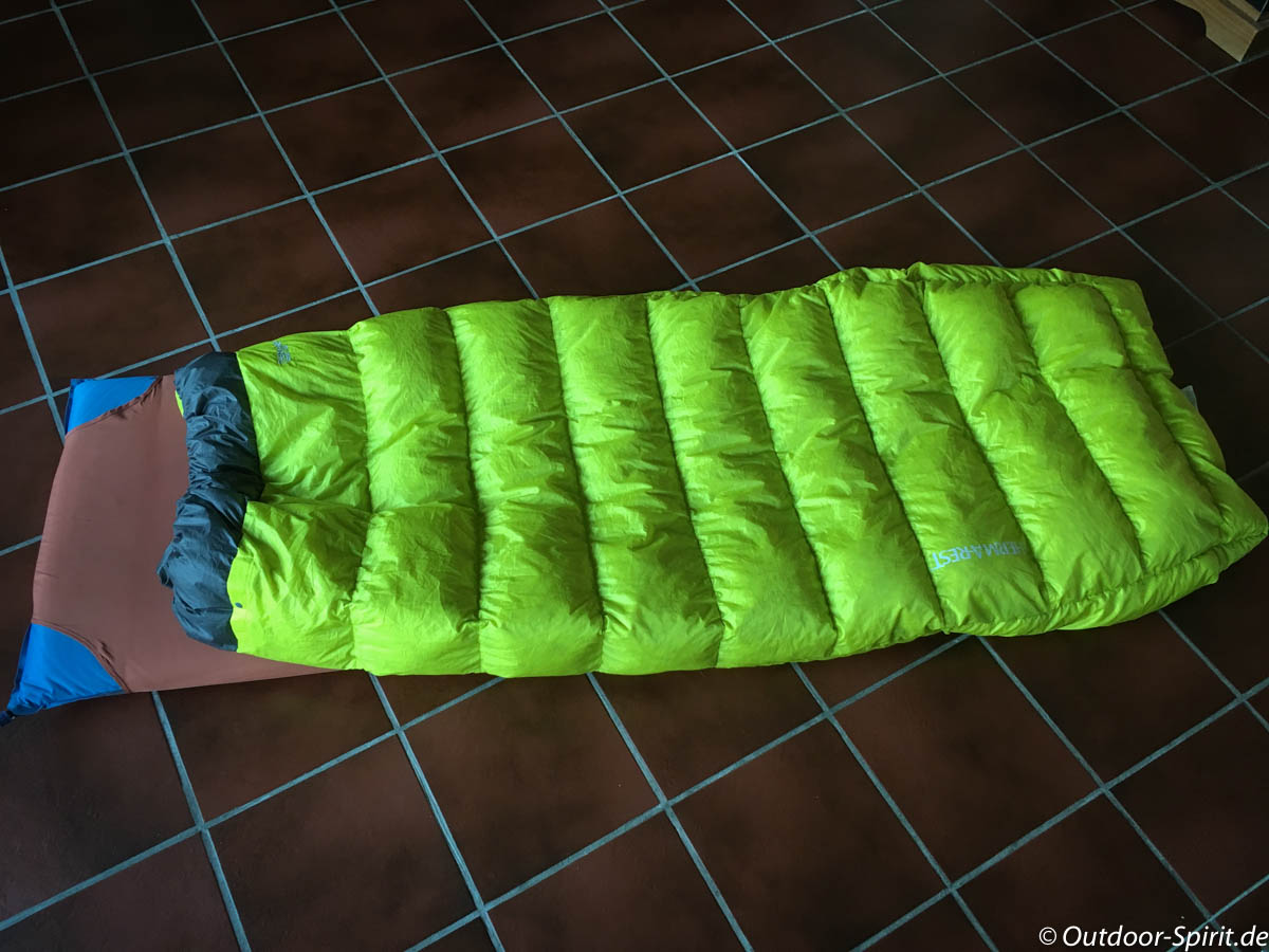 Therm-a-Rest Corus HD Quilt und Universal Sheet
