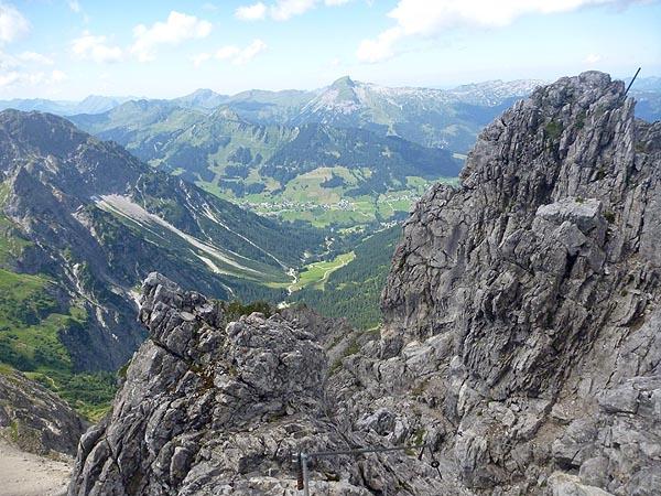 Blick nach Mittelberg