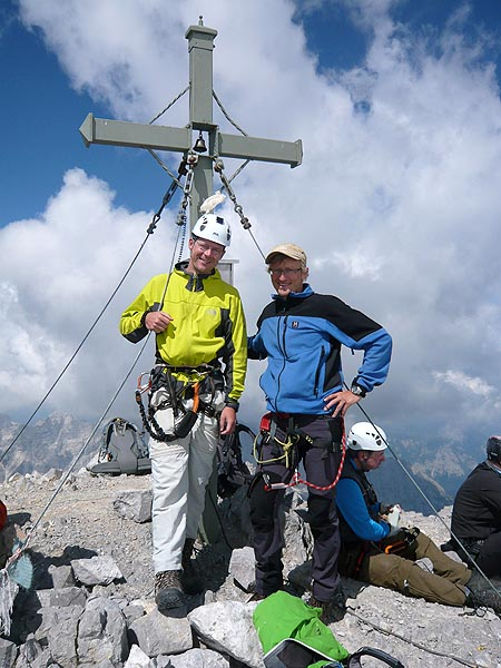 Geschafft - Die Südspitze des Watzmann