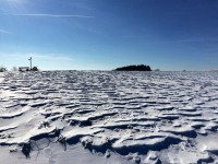 Wind und Schnee