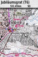 Darstellung DAV Karte auf GPSmap 64s