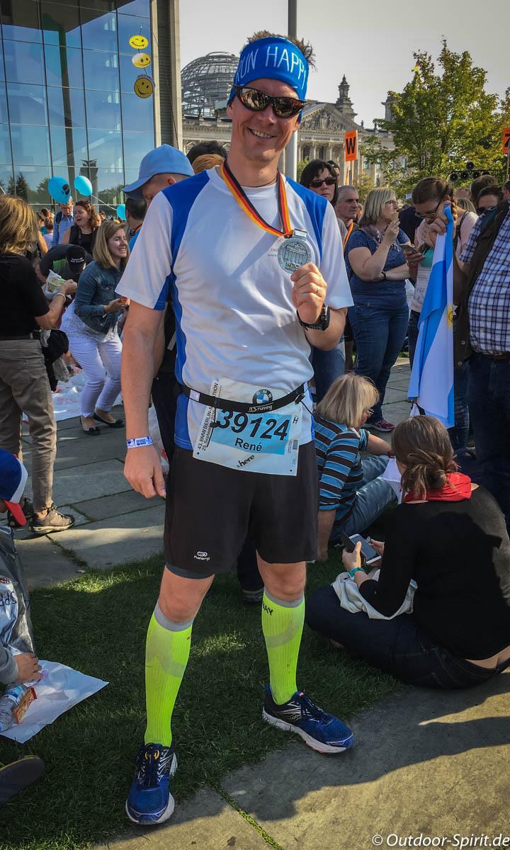 Geschafft. Mein erster Marathon