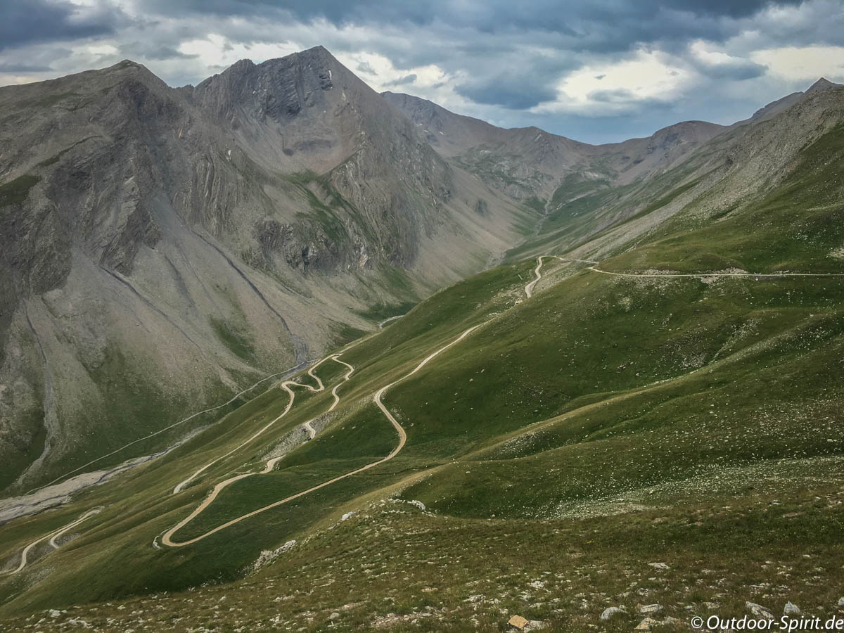 Auf dem Weg zum Col de Parpaillon