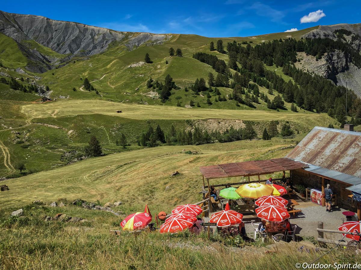 Auf dem Weg zum Col de la Bonette