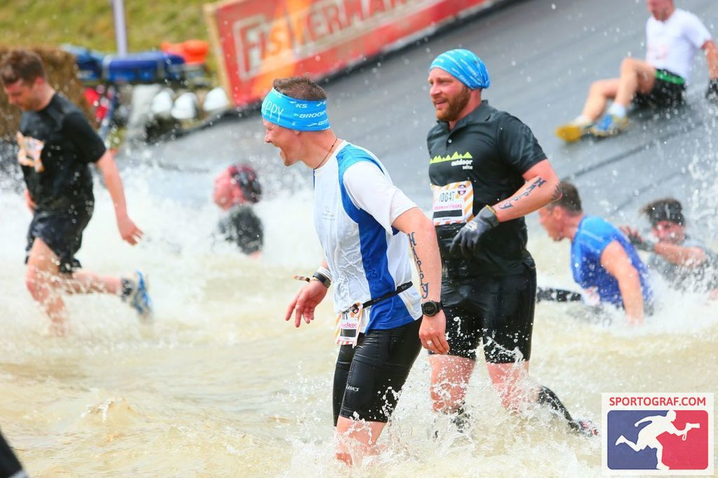 Vor dem Start beim Fishermans Friend Strongmanrun