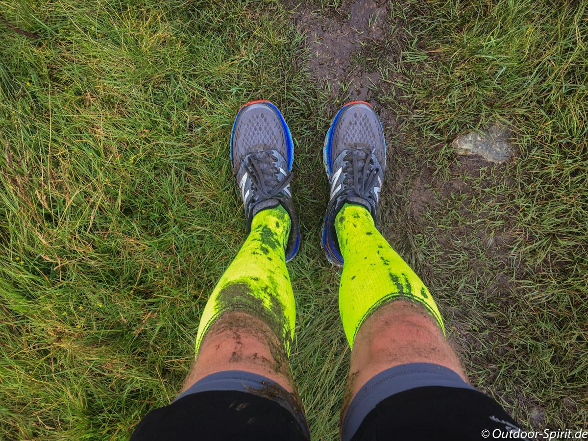 Abenteuerliche Abschnitte auf dem 30 Kilometer Lauf