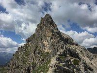 Kletterer auf dem ersten Schafalpenkopf
