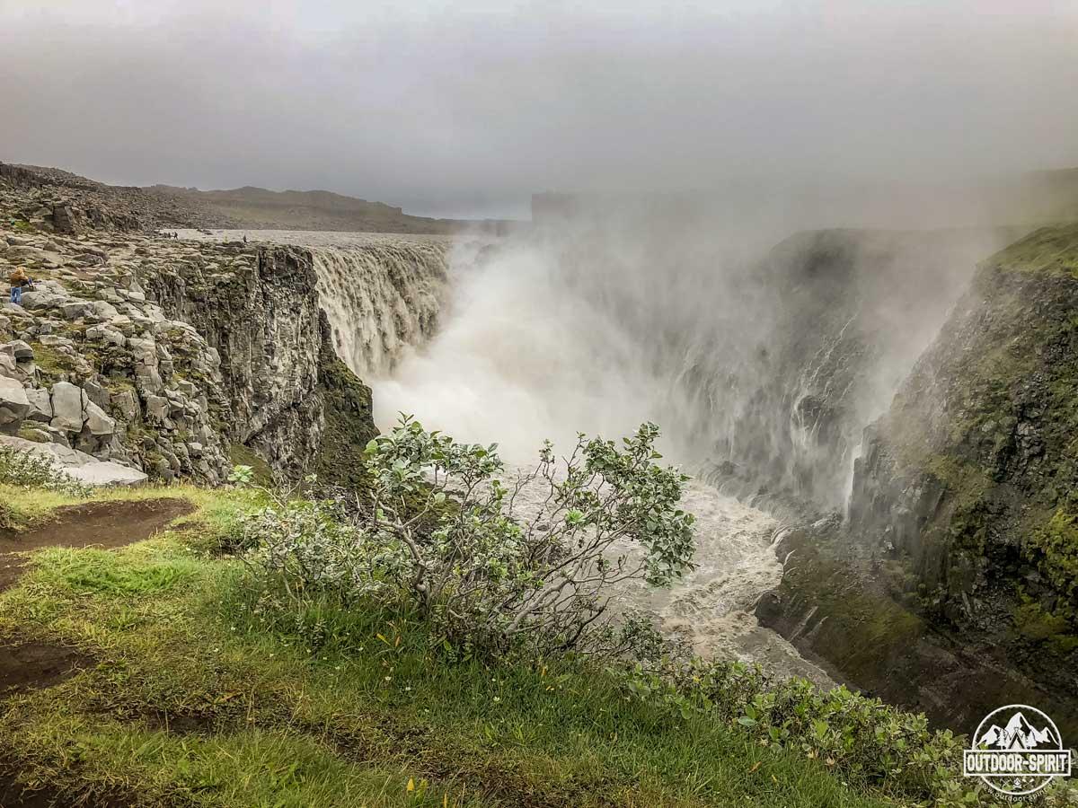 Dettifoss - der gewaltigste Wasserfall Europas
