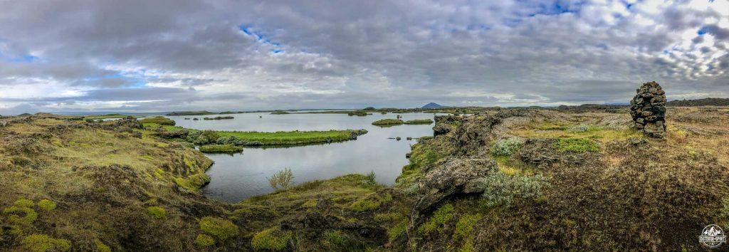 Tolle Laufrunde um den See Myvatn