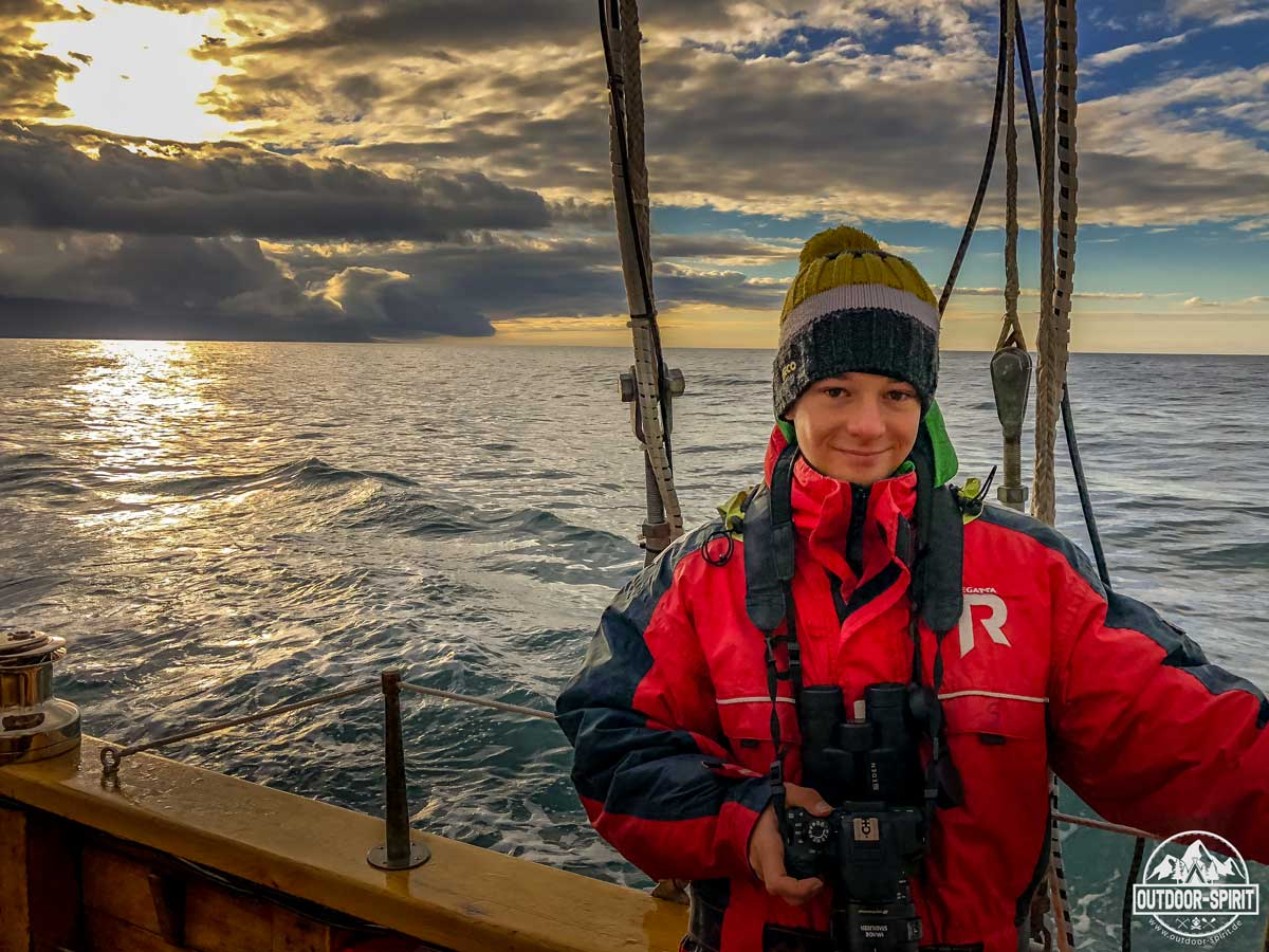 Whale Watching bei Húsavík