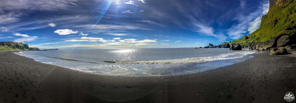 Schwarzer Strand bei Vik