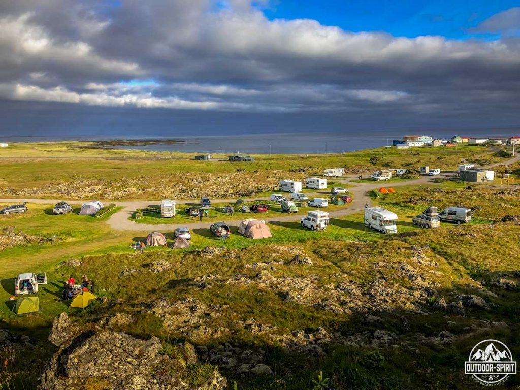 Campingplatz  Hellisandur